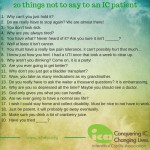 20 things not to say to an ic patient